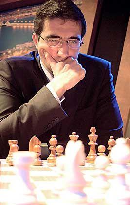 Hat einen unsichtbaren Gegner: Schachweltmeister Wladimir Kramnik