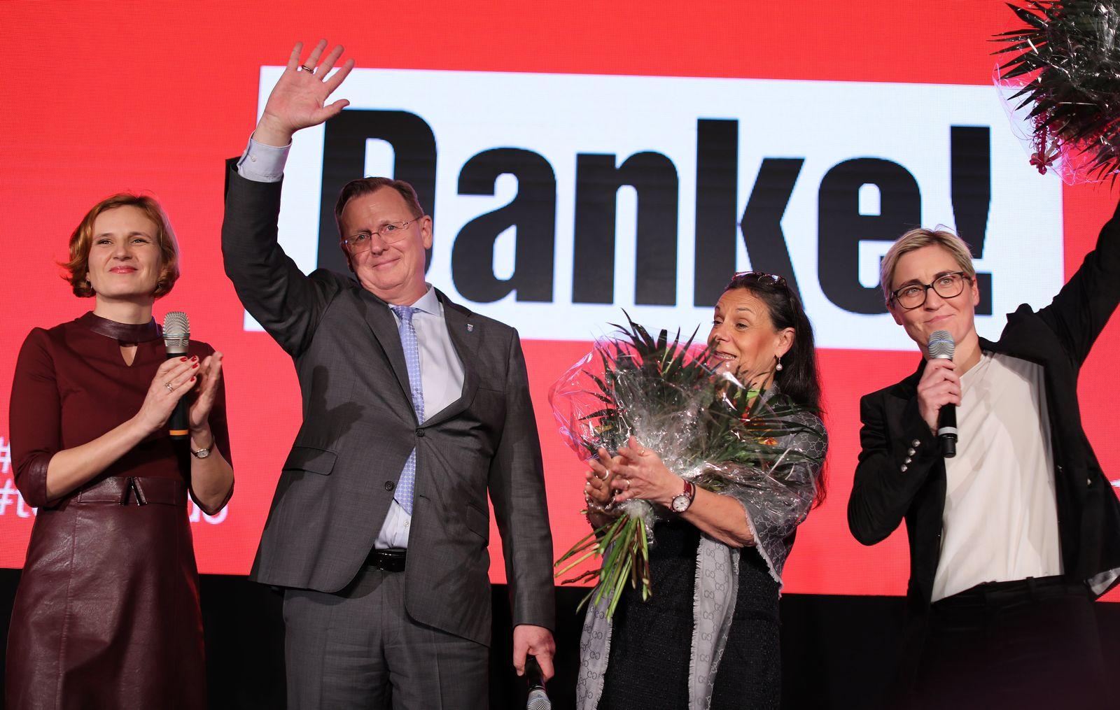 Landtagswahl in Thüringen - Linke - Lage