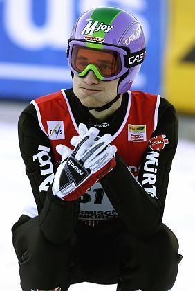 """Skispringer Schmitt: """"Ich verzweifle nicht"""""""