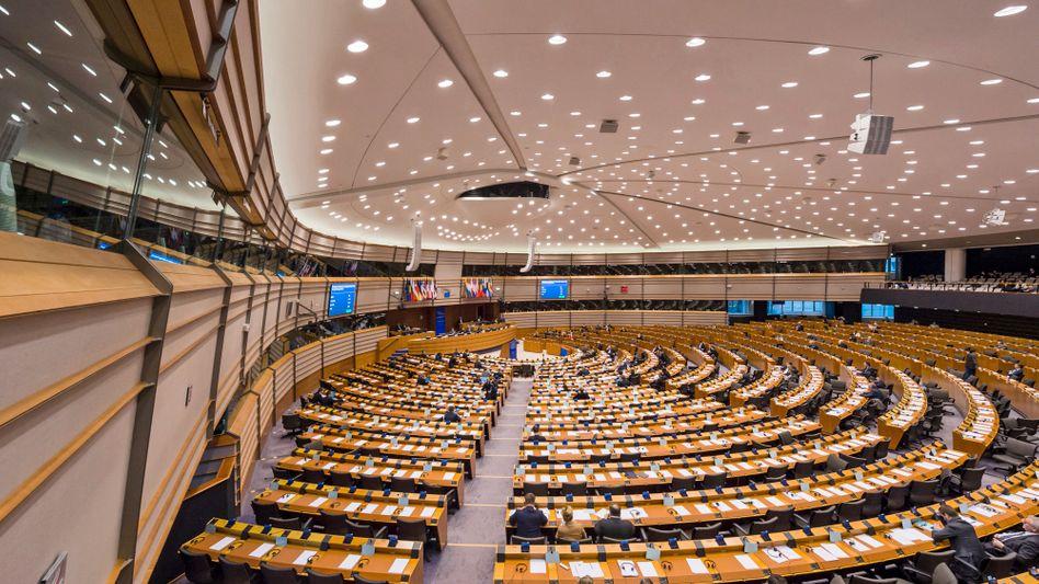 EU-Parlament in Brüssel: Rassisten soll der Livestream abgeschaltet werden
