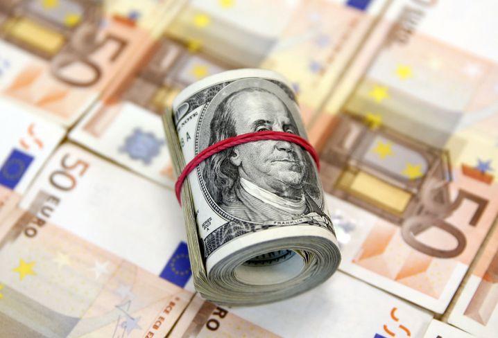 Bald Währungsparität: Euro vs. Dollar