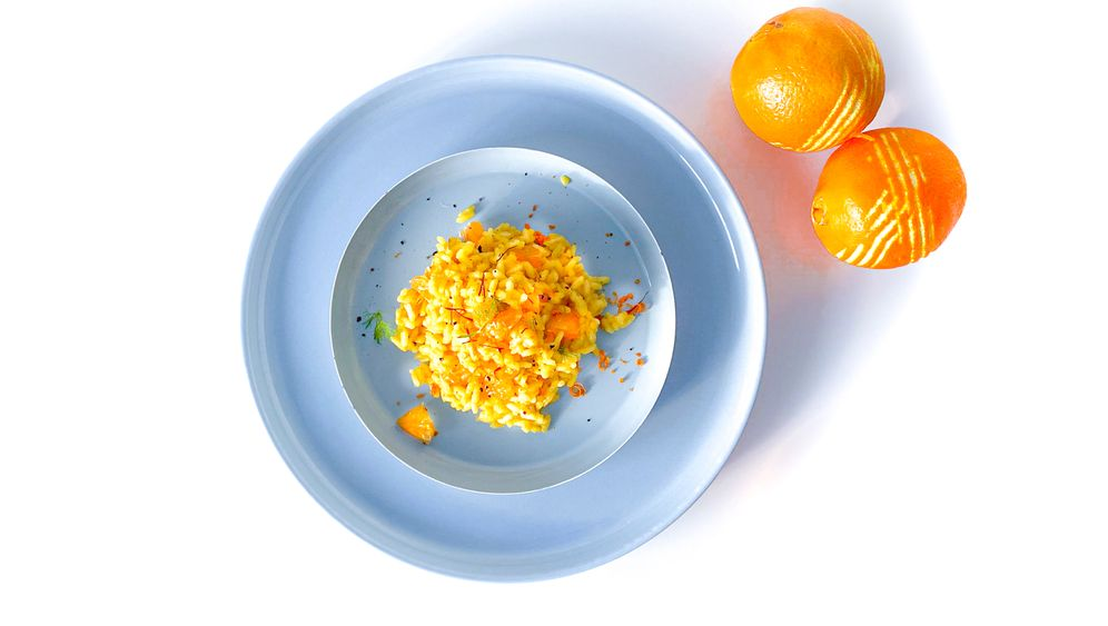 Verena Lugerts Safran-Orangen-Risotto