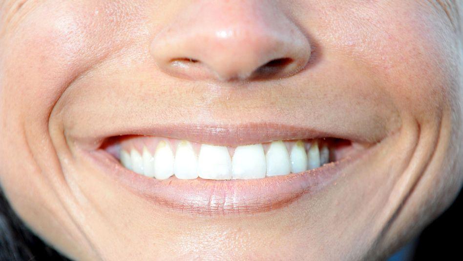 """Lachender Mund: """"In der sozialen Interaktion ein sehr starkes Signal"""""""