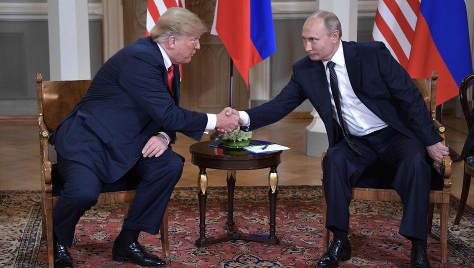 Donald Trump, Wladimir Putin