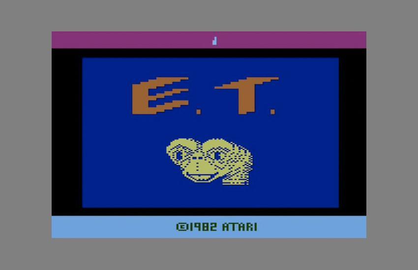 NUR ALS ZITAT Screenshot E.T. von Atari
