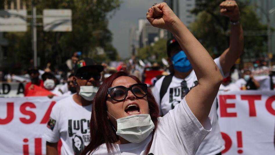 Anwältin Susana Prieto Terrazas: Protest gegen die Arbeitsbedingungen in Mexikos Fabriken