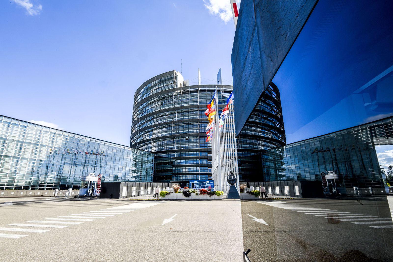 EU Parlament Gebäude/ Straßburg