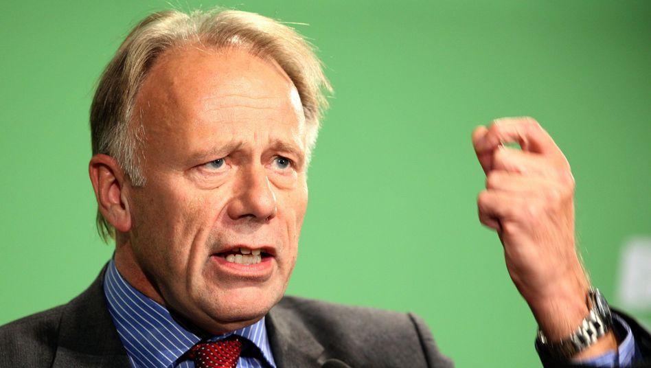 """Grünen-Fraktionschef Trittin: """"Frankreich hat zu Recht eingegriffen"""""""