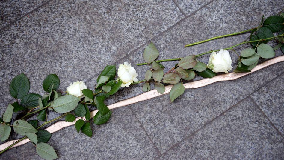 Gedenken an die Opfer des Terroranschlags am Berliner Breitscheidplatz 2016