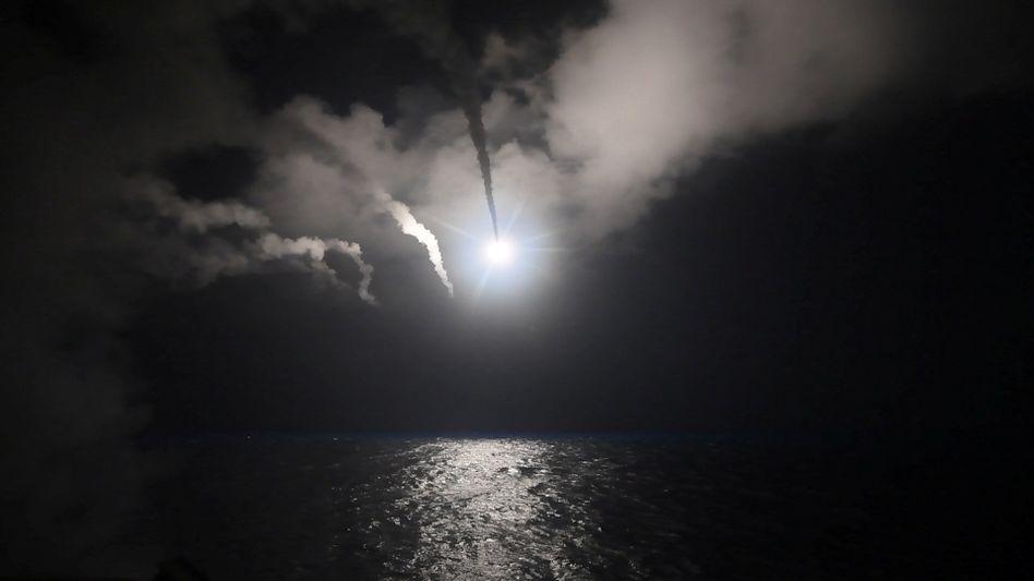 Angriff auf syrischen Flugplatz