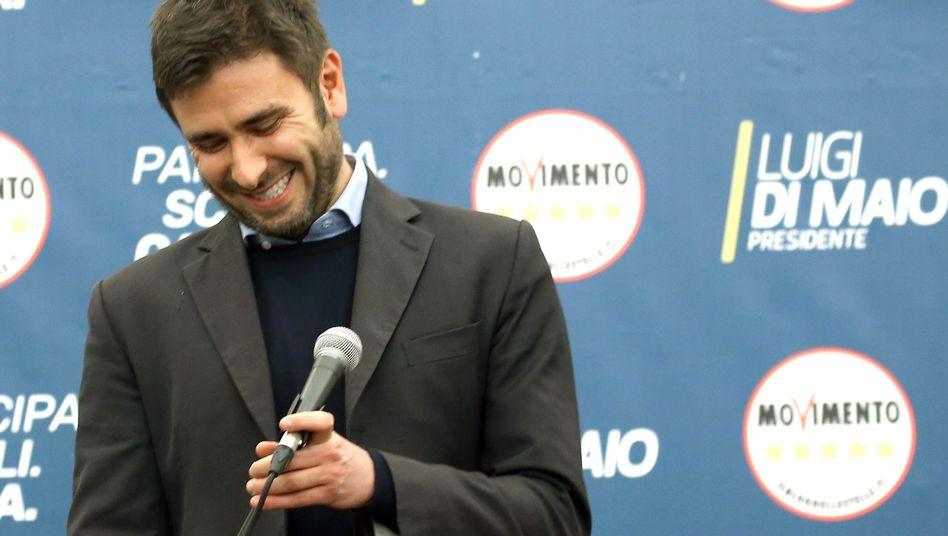 Alessandro Di Battista von der 5-Sterne-Bewegung