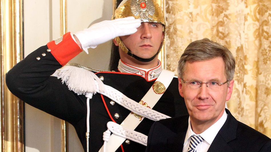 German President Christian Wulff during a visit to Rome on Monday.