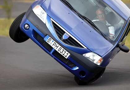 Dacia Logan: Kläglich versagt im Elchtest