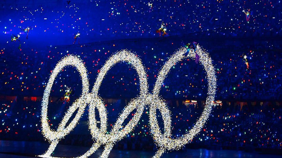 Eröffnungsfeier der Olympischen Spiele in Peking