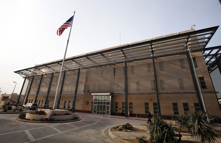 US-Botschaft in Bagdad