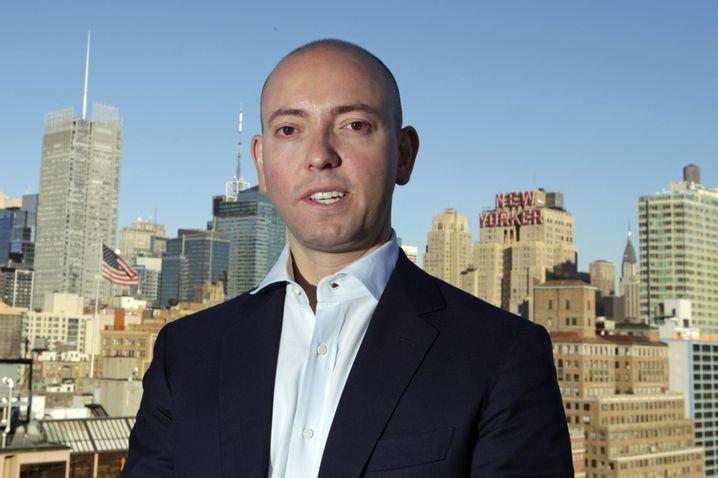 """Banker Greg Smith: Wie bei einem """"Rattenrennen"""""""