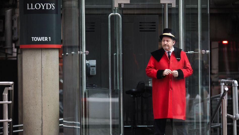 Very british: Lloyd's building in London