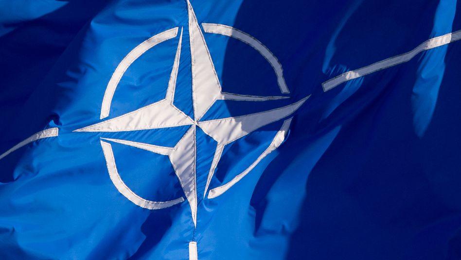 Nato-Flagge (Archivbild)