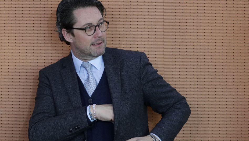 CSU-Verkehrsminister Andreas Scheuer (Archiv)