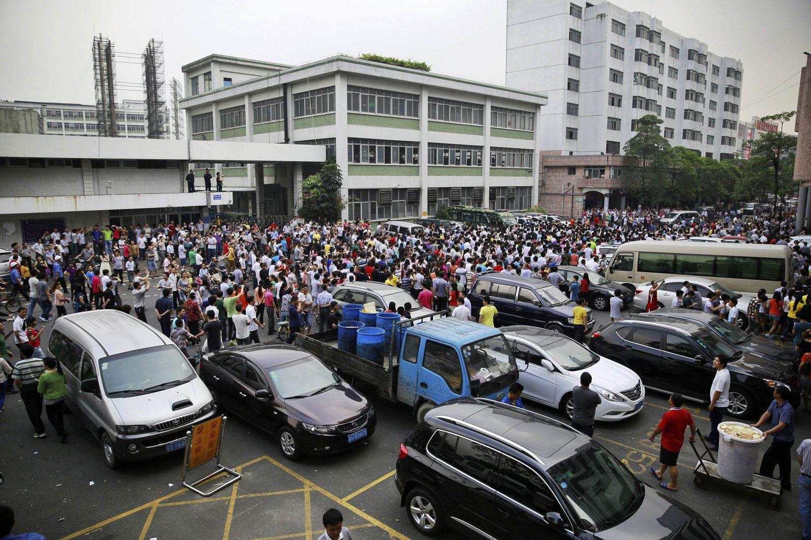 China Streik Yue Yuen