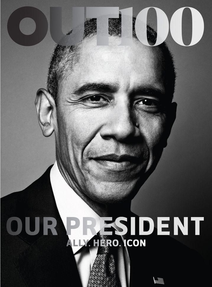 """""""Verbündeter. Held. Ikone"""": US-Präsident Obama auf dem """"Out""""-Cover"""