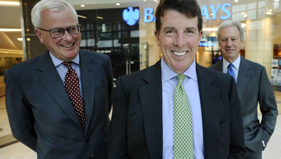 Ex-Barclays-Chef Diamond (Mitte): Regierung begrüßte den Rücktritt