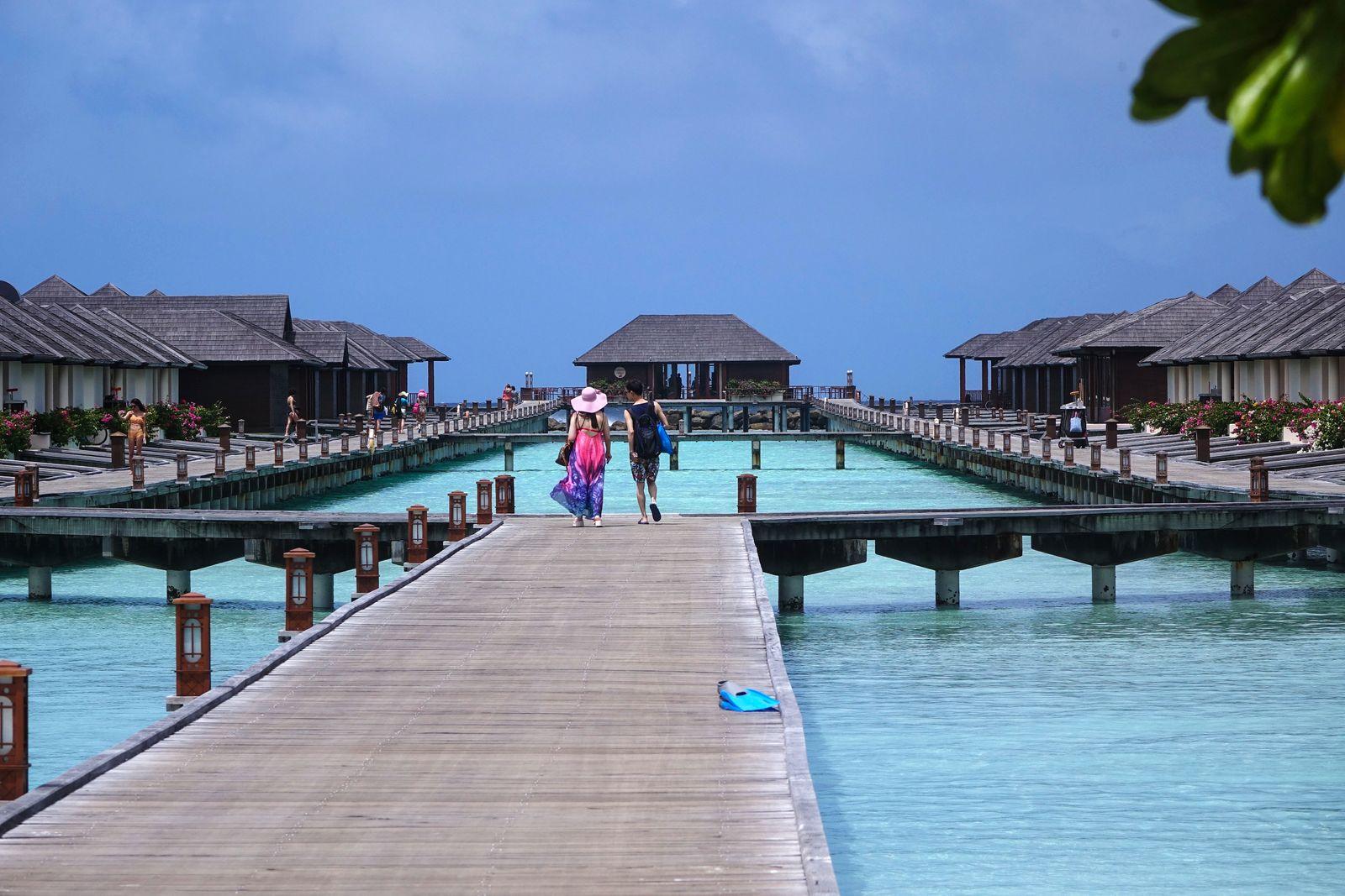 Maldives, little island resorts