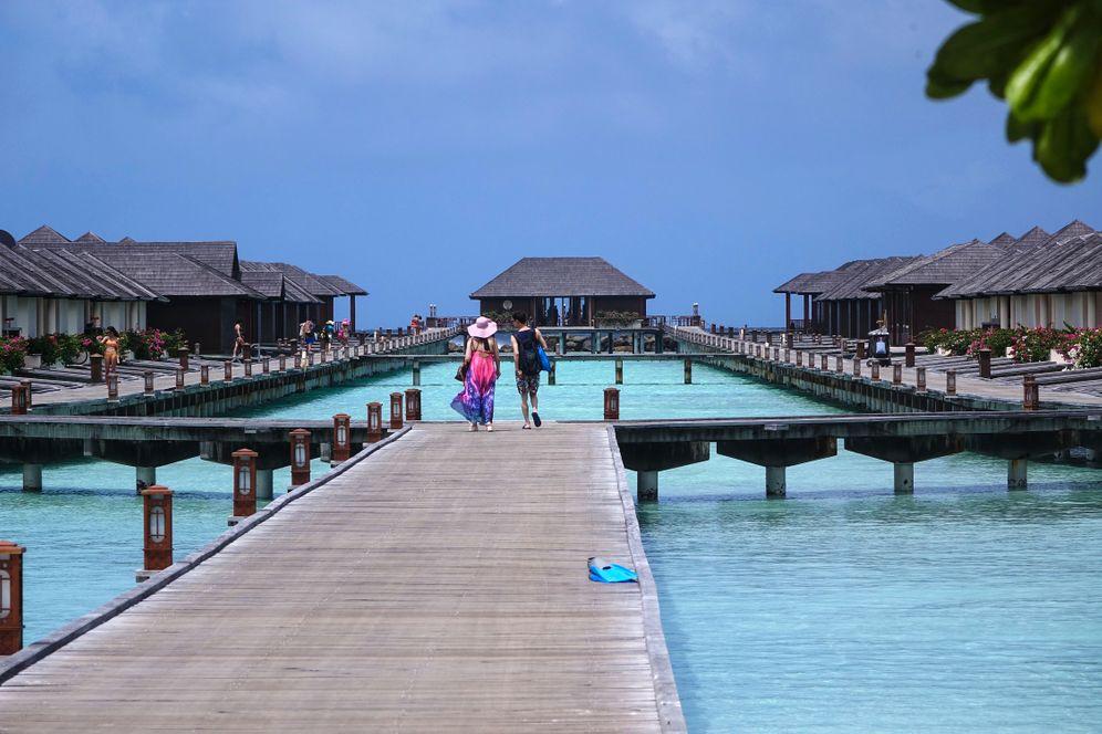 Seit 1972 kommen Touristen auf die Malediven