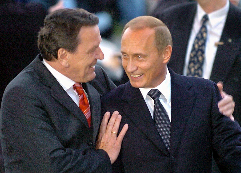 Schröder und Putin