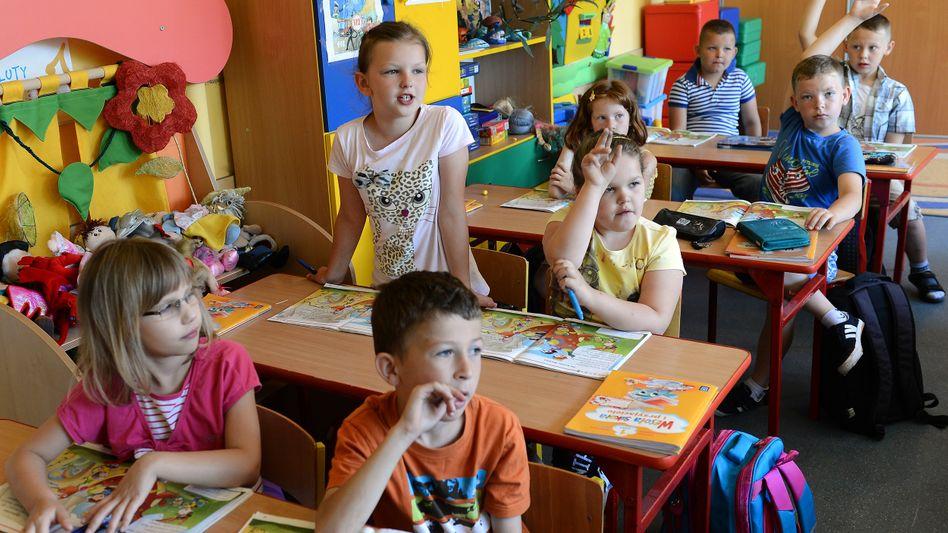 Schüler in Polen
