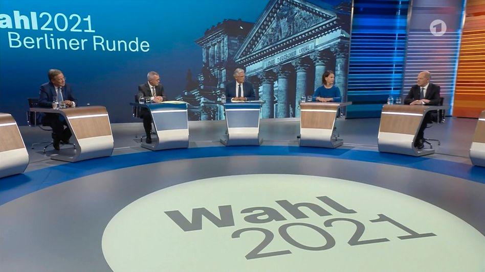 »Berliner Runde«: ARD und ZDF werfen »Bild«-TV vor, Ausschnitte ohne Genehmigung verwendet zu haben