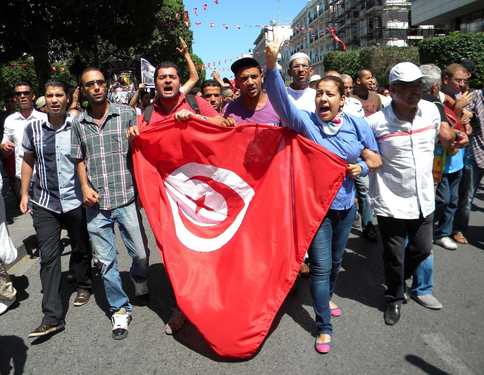 Proteste Tunesien