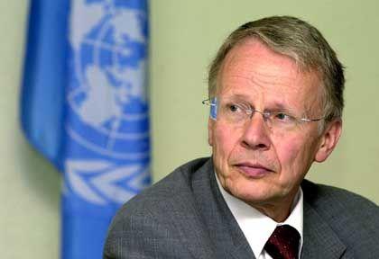 """Menschenrechtsbeauftragter Tom Koenigs: """"Del Ponte ist nicht jemand, der Druck nachgeben würde"""""""