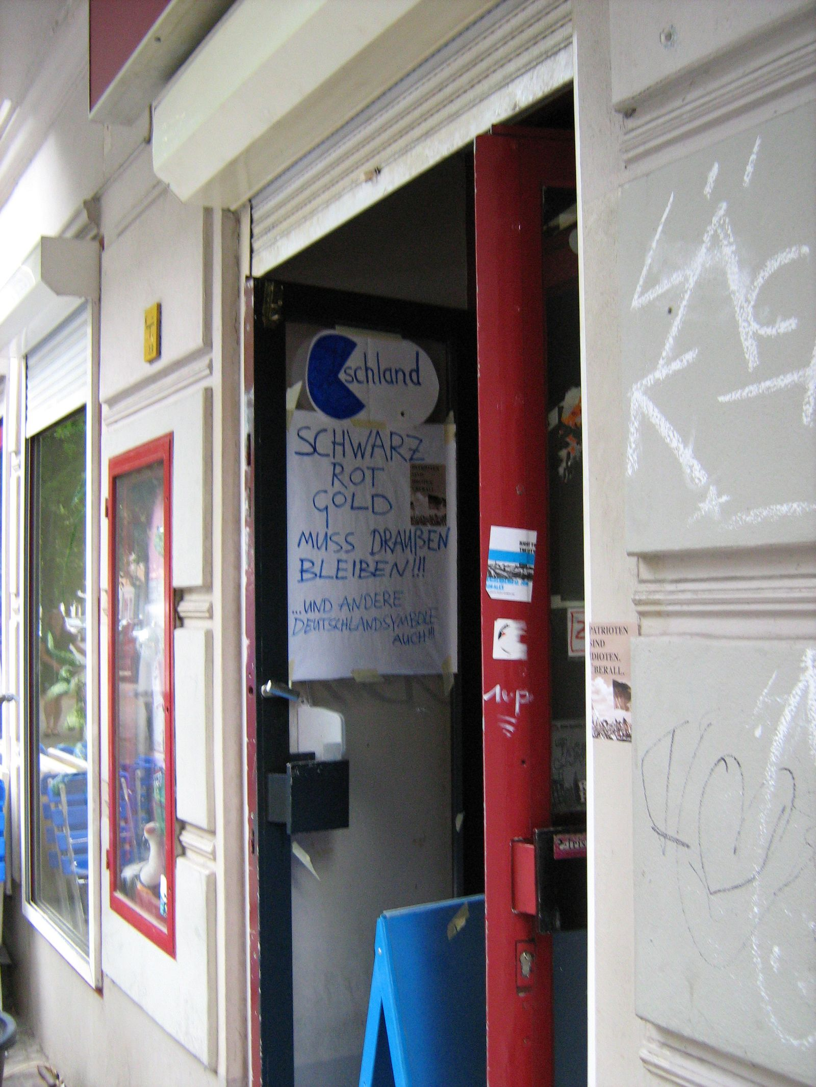 Berlin / Neukölln / Migranten / Deutschlandsymbole