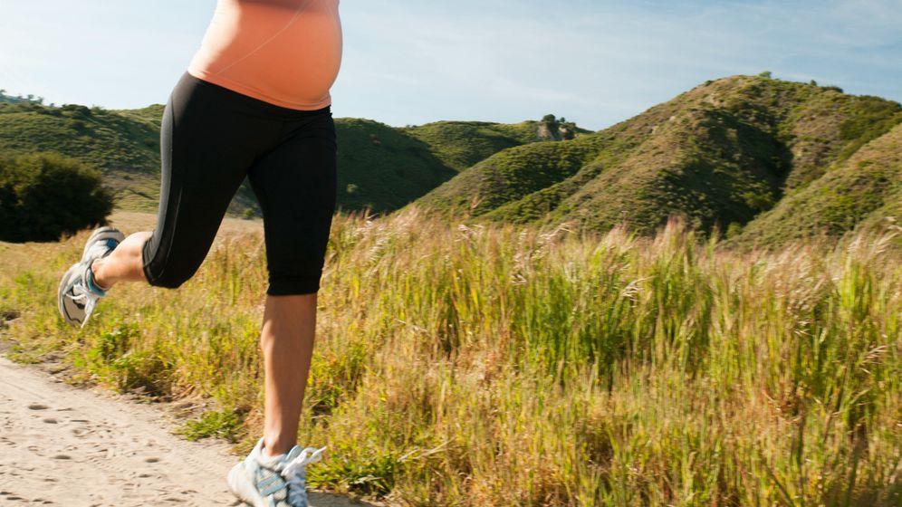 Fitte Schwangerschaft: Sport mit dickem Bauch