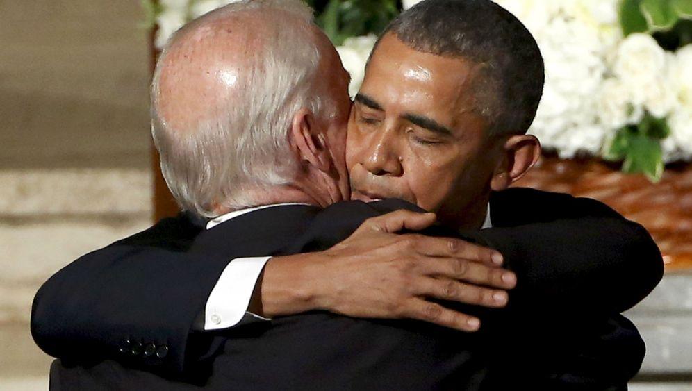 Barack Obama: Rührende Geste