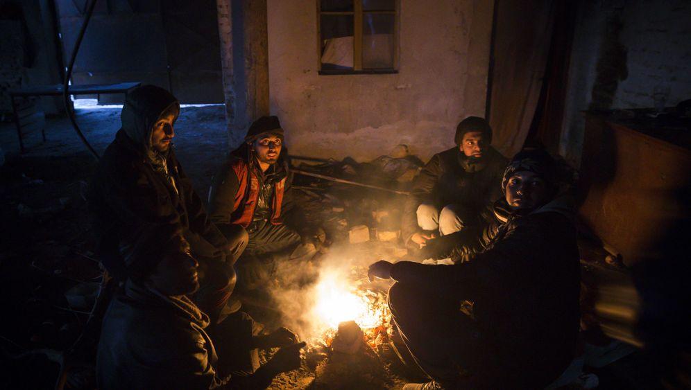 Flüchtlinge: Ein Platz in der Kälte