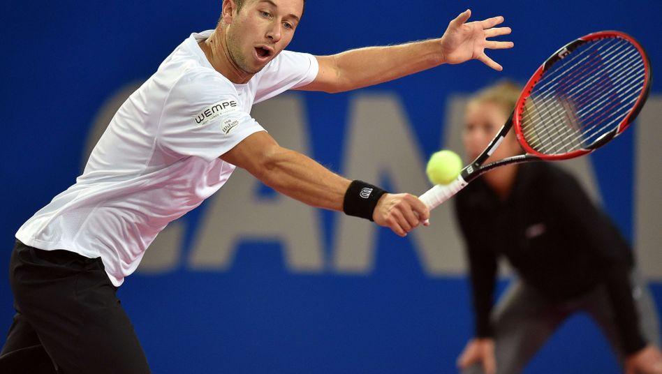 Tennis-Profi Kohlschreiber: Comeback gegen Frankreich