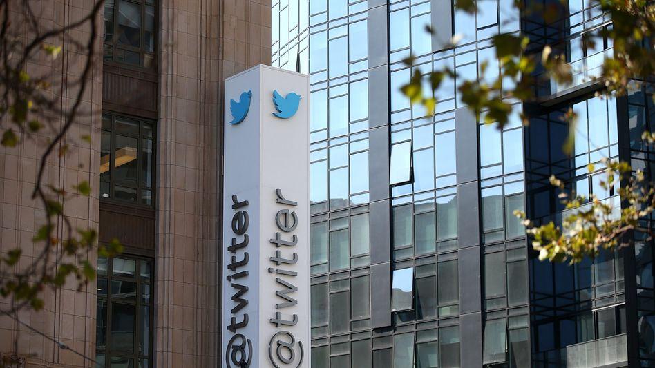 Twitter-Firmensitz in San Francisco: Die Zahl der aktiven Nutzer stieg auf 302 Millionen im Monat