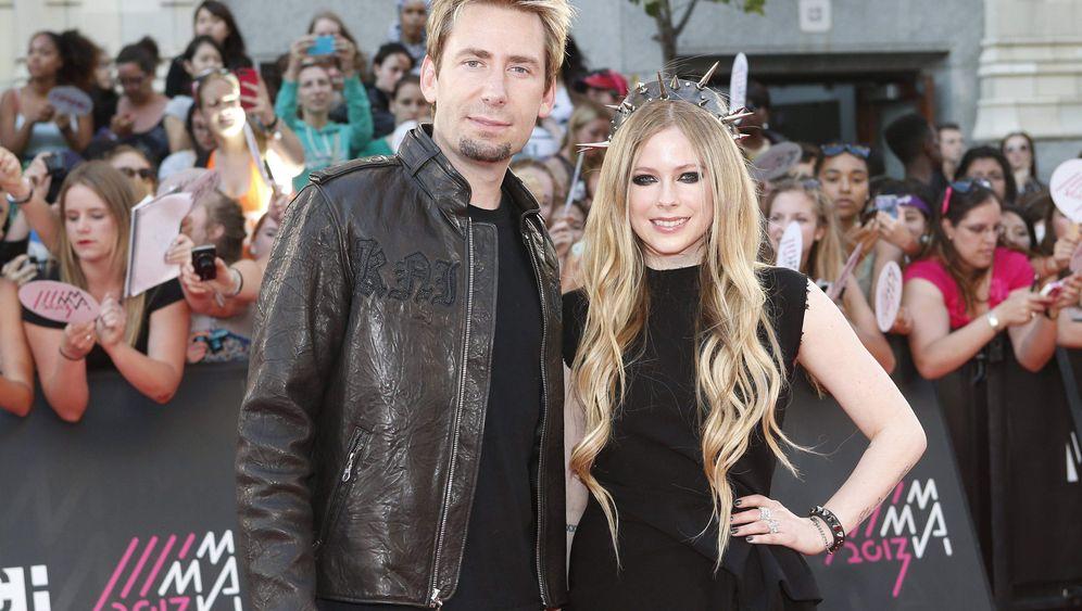Rockstar-Paar: Avril und Chad