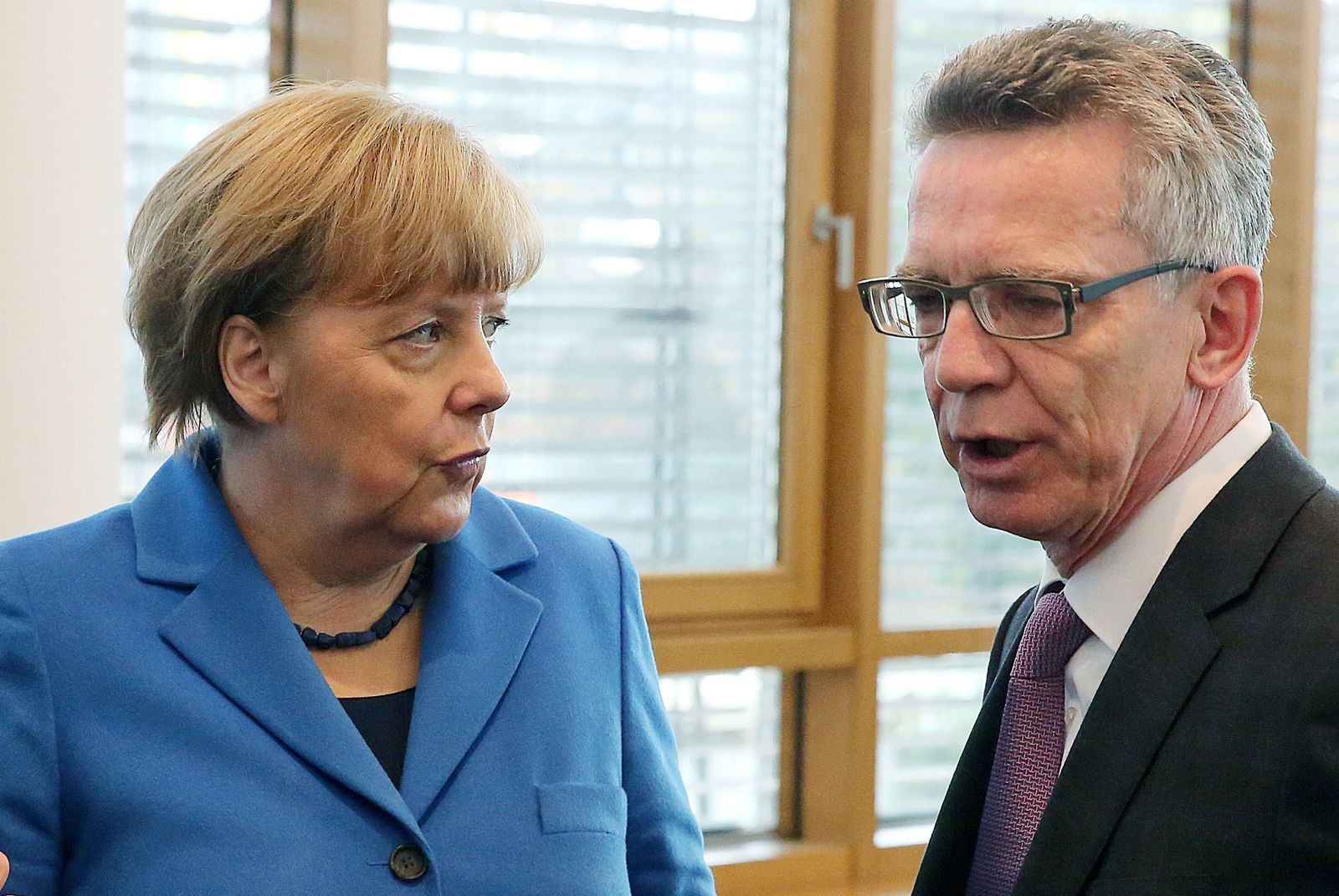 Merkel / de Maizière