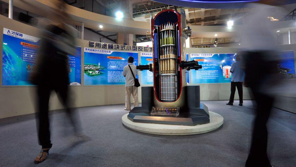 Modell eines Mini-Atomreaktors in Peking