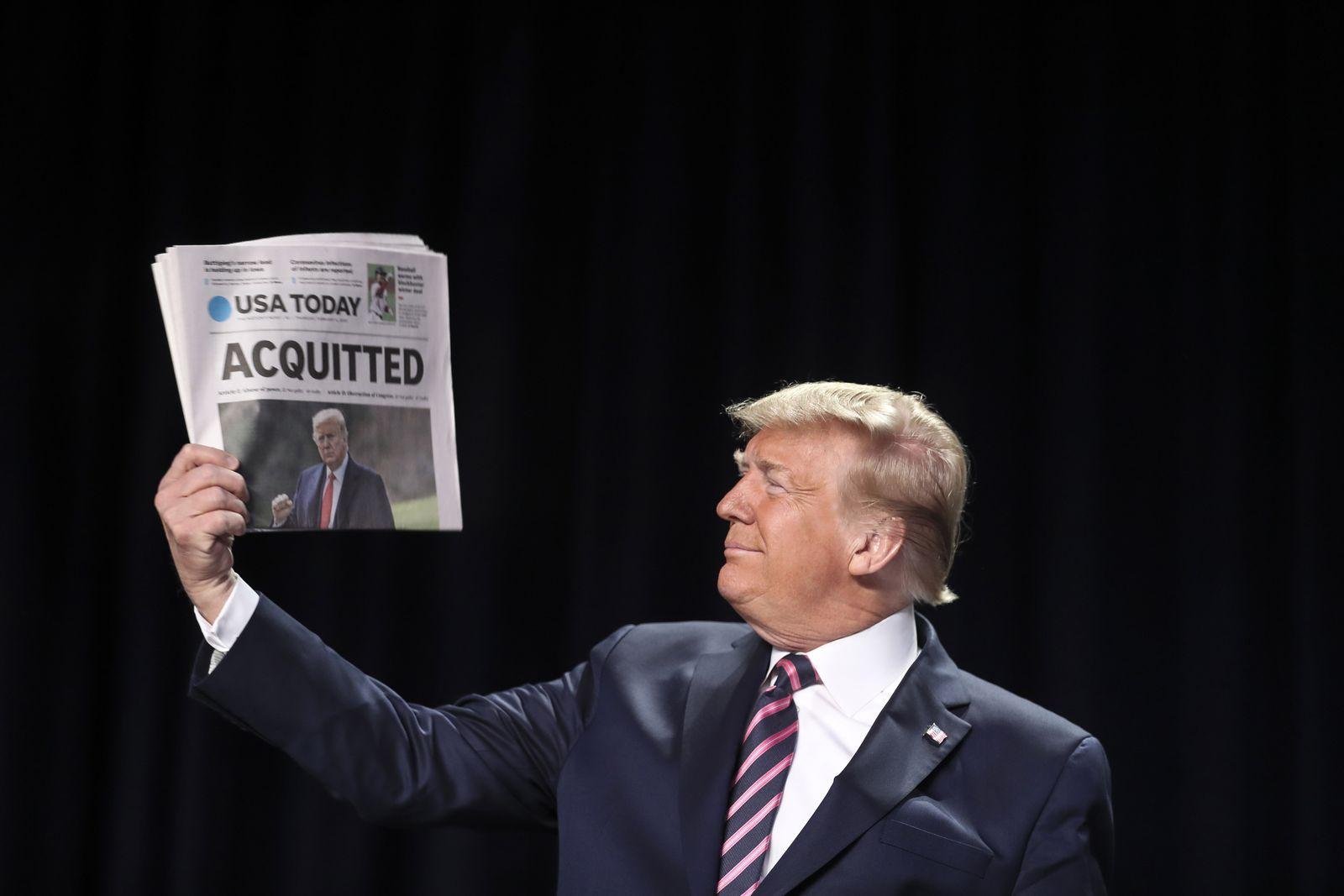 US President Trump attends 68th Annual National Prayer Breakfast, Washington, USA - 07 Feb 2020