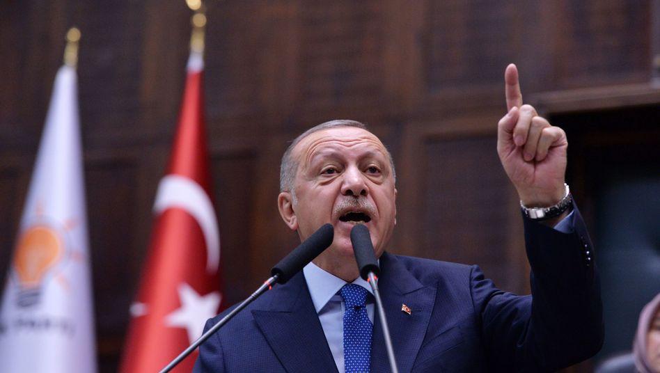 """Erdogan: """"Sie werden ihren jeweiligen Gegenpart treffen"""""""
