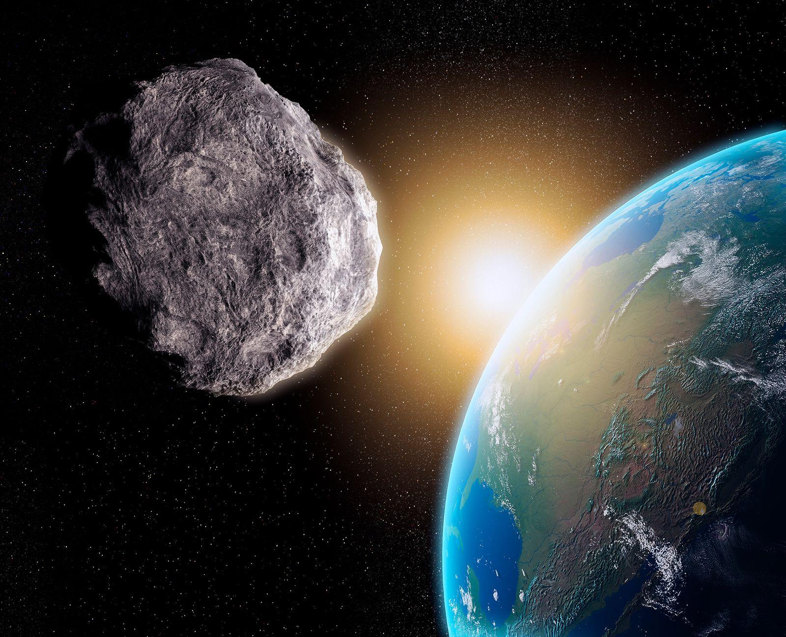 EINMALIGE VERWENDUNG Asteroid