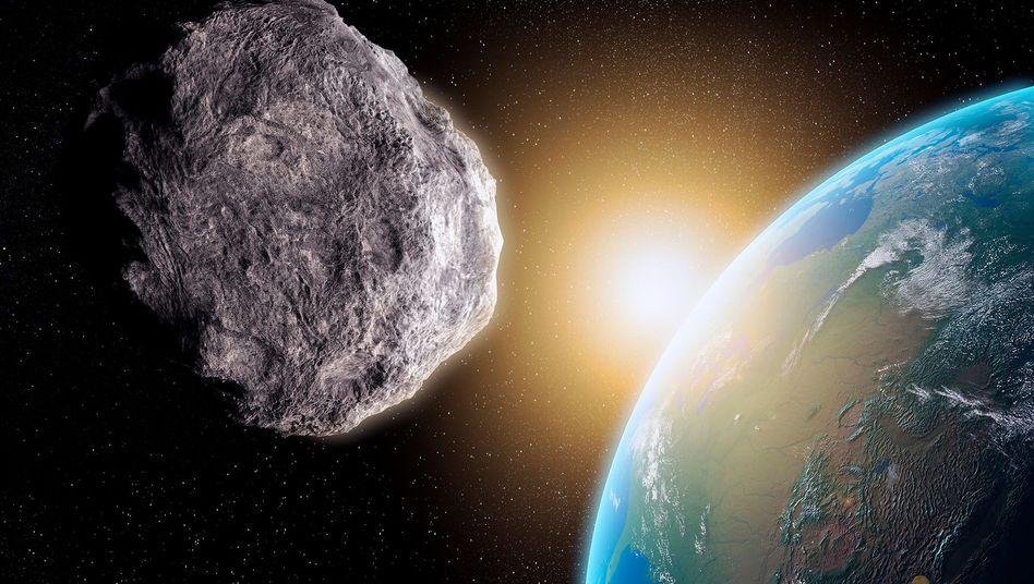 Asteroid auf Kollisionskurs: Insgesamt 878 potenziell gefährliche Brocken sind registriert