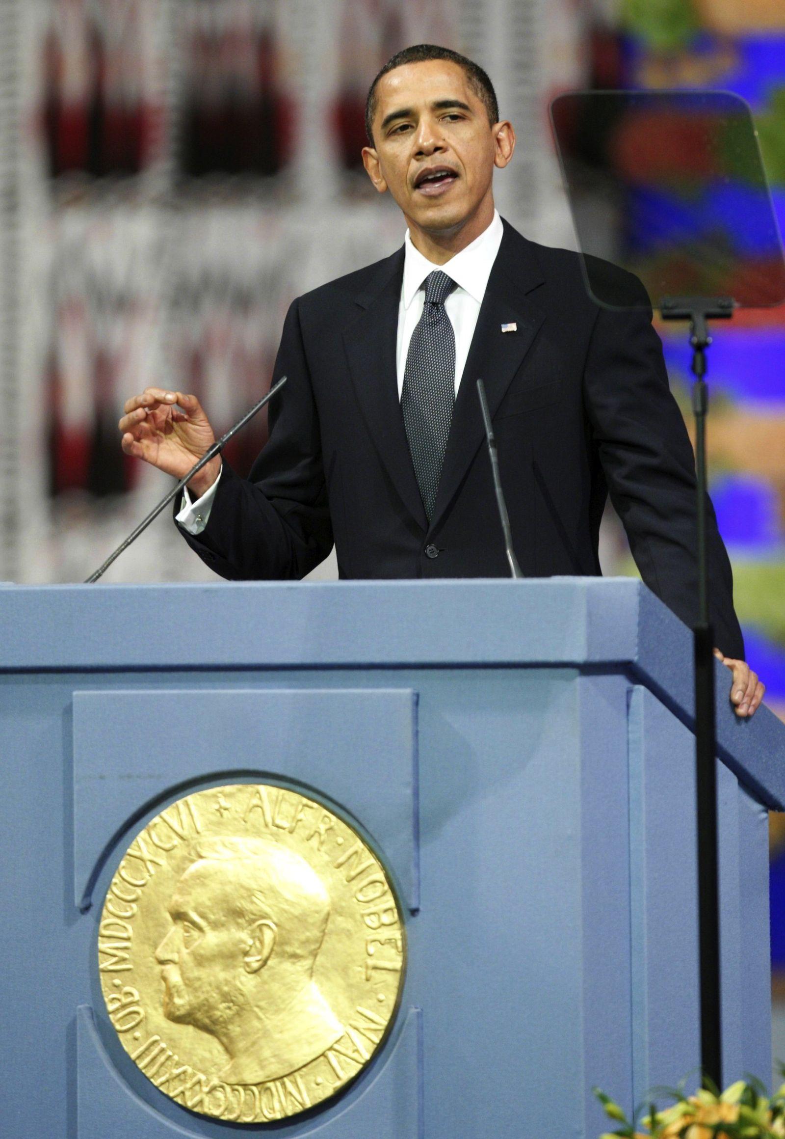 Obama/ Oslo/ Rede