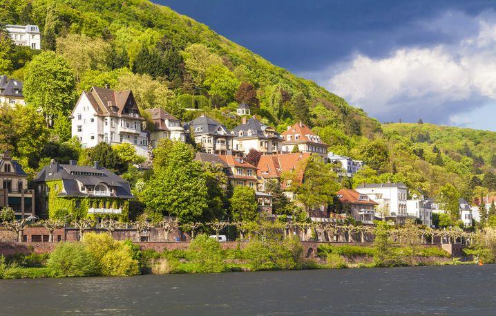 Gehobenes Wohnviertel in Heidelberg