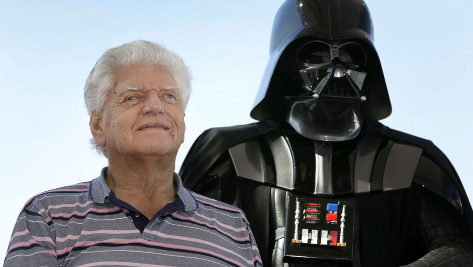 David Prowse im Oktober 2015: Der Schauspieler starb im Alter von 85 Jahren