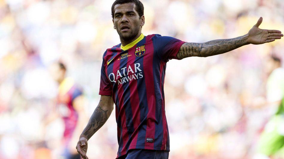 "Barcelona-Star Dani Alves: ""Glaube nicht an Vergeltung"""